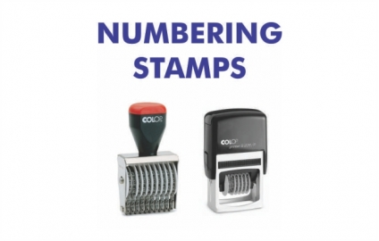 Numbering Stamps   -  Self Inking