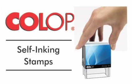 Self Inking Stamps - Colop Popular Sizes
